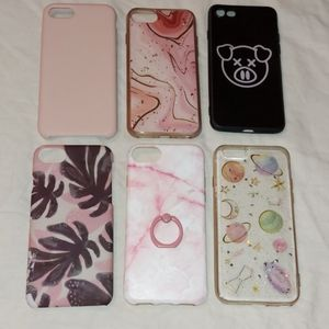 iPhone 6 cases sold as lot of 6 total